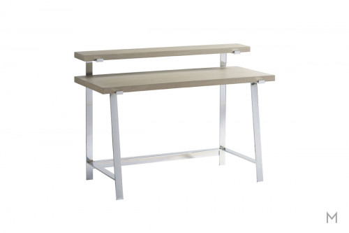 Axis Kids Desk with a Metal Frame and Finished in Symmetry