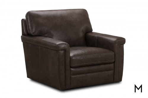 M Collection St. James Chair in Pewter
