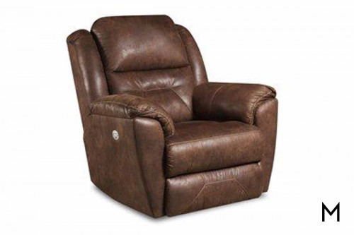 M Collection Pandora Rocker Recliner with Power Headrest