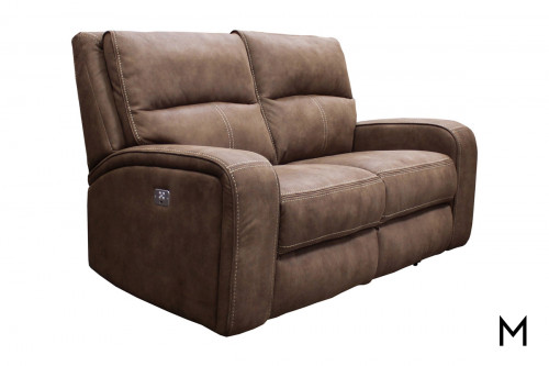 M Collection Power Reclining Loveseat
