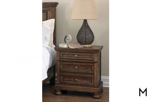 Flynnter Nightstand with 2 Drawers