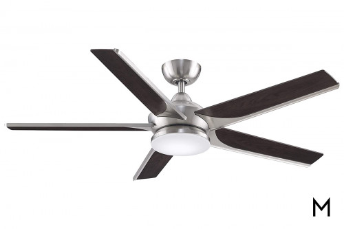 """Indoor Outdoor 56"""" Lighted Ceiling Fan"""