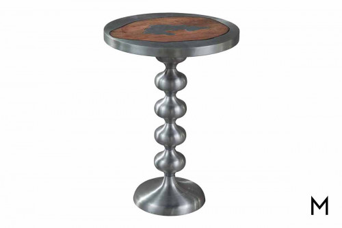 Cast Metal Side Table