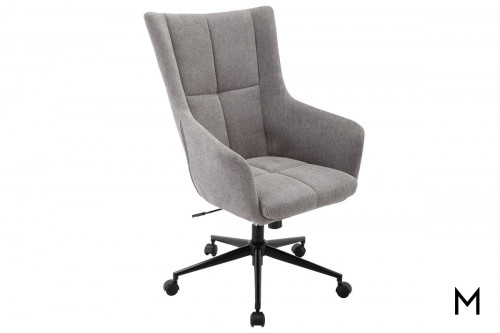 M Collection Fabric Desk Chair