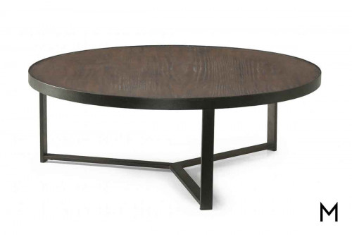 Carmen Large Bunching Coffee Table featuring Mixed Metal and Wood