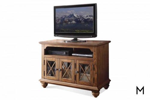 """Riverside 42"""" TV Console in Oak"""