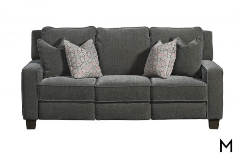 M Collection West End Power Reclining Sofa with Pillows