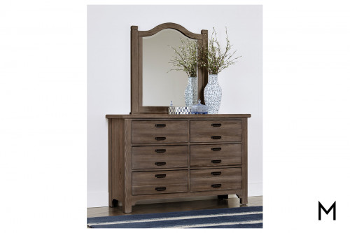 6-Drawer Dresser with Double Drawers
