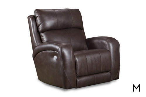 M Collection Leather Power Recliner