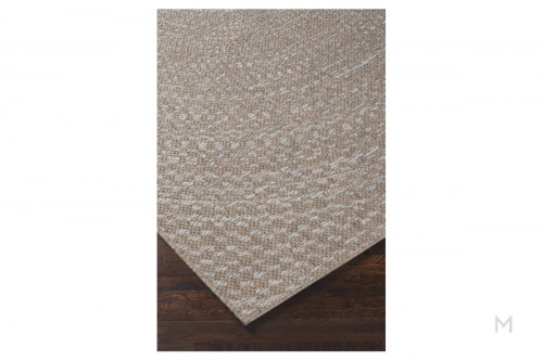 "Crop Circle Woven Area Rug 5'3"" x 7'6"""