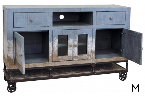 Urban Coastal Console in Blue