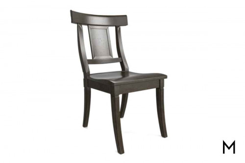 Baxter Side Chair in Greystone