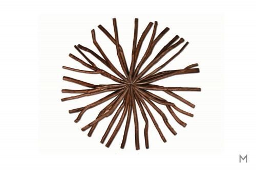 Small Antares Snowflake in Chocolate Hue