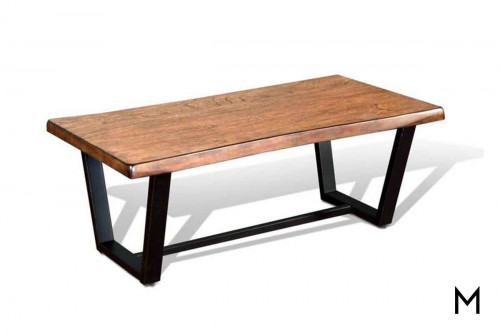 Chapel Hill Live Edge Cocktail Table