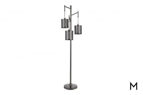 3-Light Floor Lamp