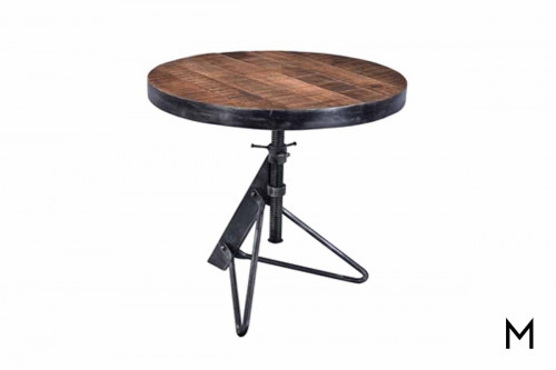 Jadu Accent Table with Adjustable Height
