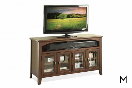 "Canterbury 50"" Tv Console in Cherry"