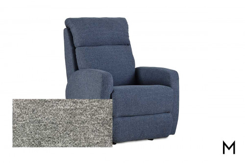 M Collection Primo Power Rocker Recliner in Halifax Dove
