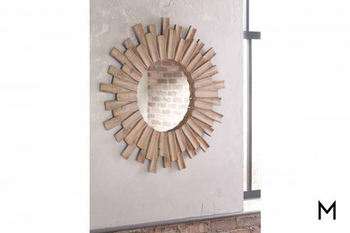 Donata Wall Mirror in Natural
