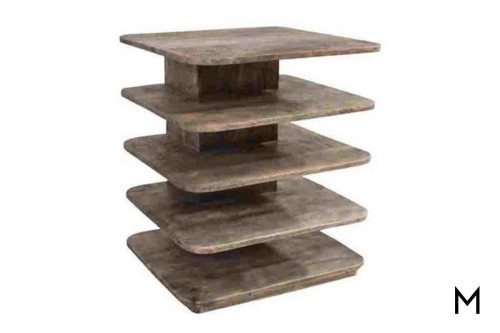 Bengal Manor Tiered End Table