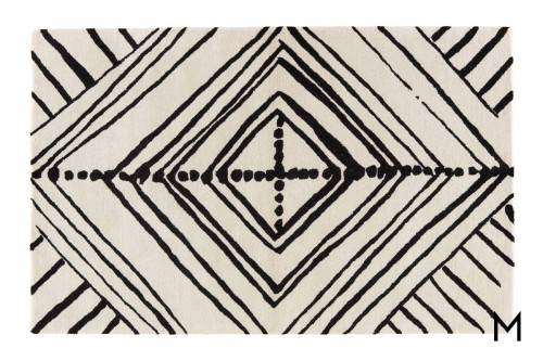 Geometric Diamond Area Rug 8'x10'