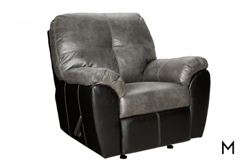 Gregale Recliner in Slate Grey