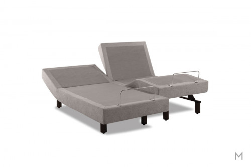 TEMPUR-Ergo® Premier Adjustable Base - Twin XL in Gray Upholstery