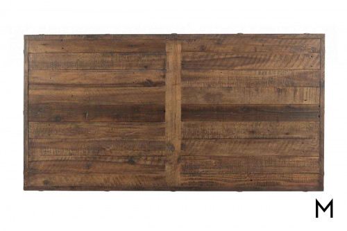 Carpenter Rectangular Coffee Table made with Reclaimed Wood