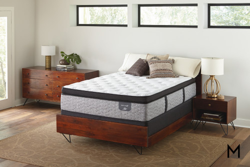 Serta Elmhurst Euro Pillow Top Twin Mattress