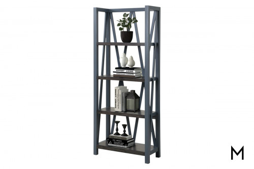 M Collection Denim Étagère Bookcase