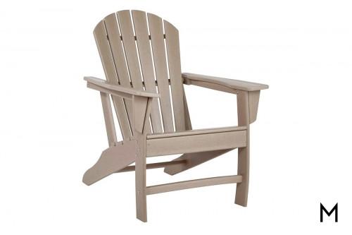 Sundown Adirondack Chair in Brown