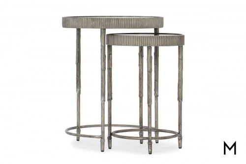 Silver Leaf Nesting Tables