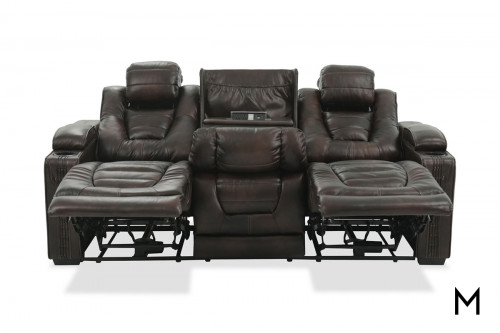 Big Chief Power Reclining Sofa with Power Outlets