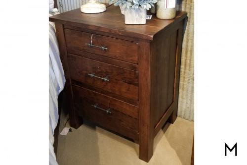 Bryson 3 Drawer Nightstand with Cedar Bottom Drawer