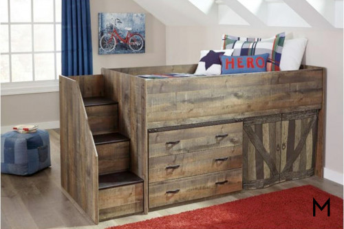 Lofted Storage Bed