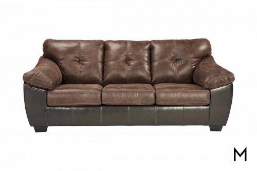Gregale Sofa in Coffee