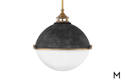 Large Orb Pendant Light