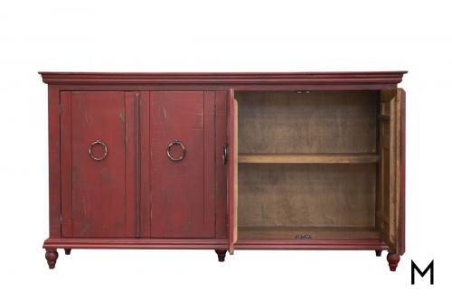 Capri Console in Red