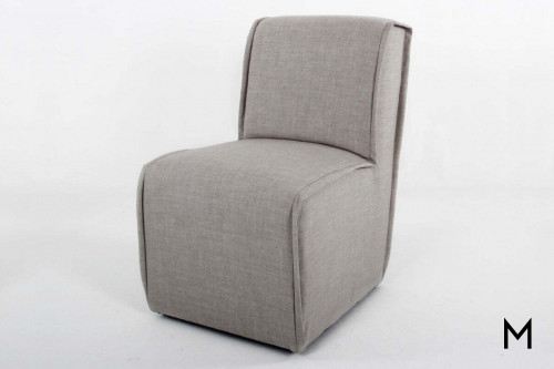 Contemporary Slipper Dining Chair