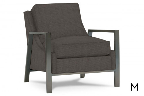 Odell Accent Chair in Bark