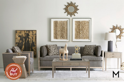 Astor 2 Piece Seating Set with Sofa and Accent Chair