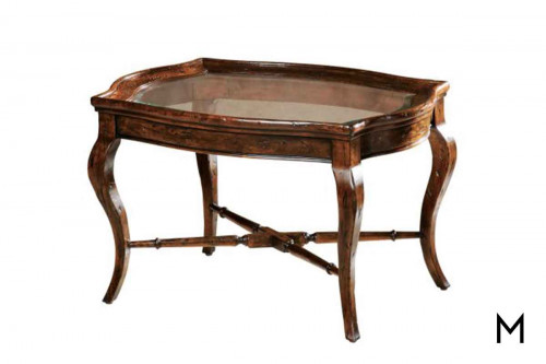 Rue de Bac Oval Coffee Table
