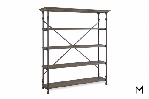 Berkeley Great Room Rack with Bronze Frame