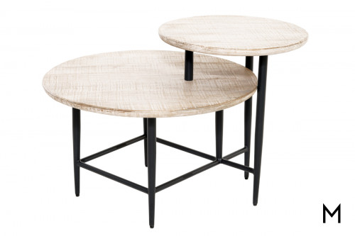 Tiered Round Side Table
