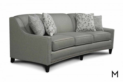 Meredith Sofa in Griffin Pewter