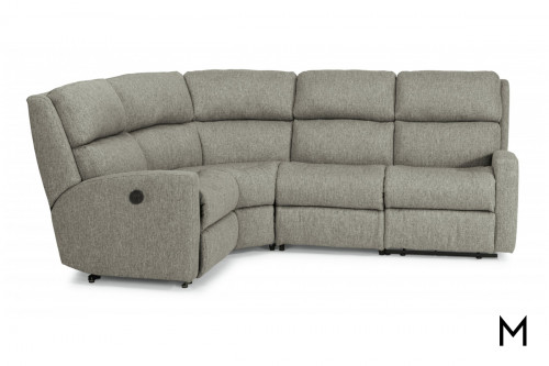 Catalina 6 Piece Sectional Sofa with Two Reclining Sections