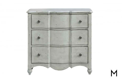 Stefan 3 Drawer Accent Chest in a Distressed Finish