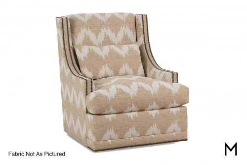 Lindsay Wingback Swivel Chair