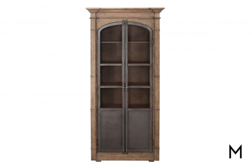 Modern Authentics Display Cabinet in Light Oak