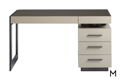 Modern 5-Drawer Writing Desk